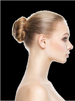 Nasenkorrektur in Linz/Oberösterreich, Profil von junger Frau mit schöner Nase