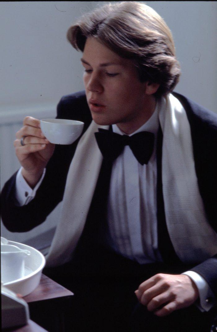 Dr. Sebastian Pilz beim Ärzteball (1982)