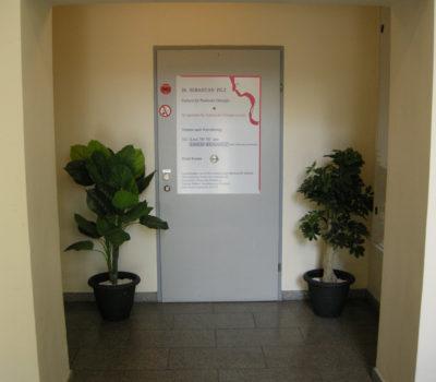 Ordination Dr. Sebastian Pilz - Eingang